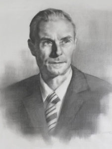 Arthur – Adult Portrait in Graphite