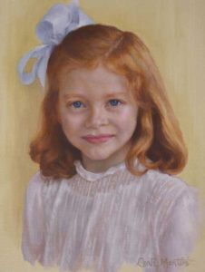 Adair – Child Portrait in Oil