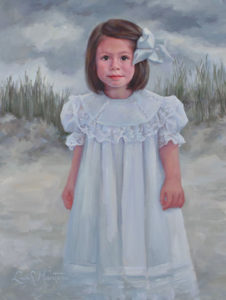 Annie – Child Portrait in Oil