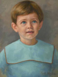 Bentley – Child Portrait in Oil