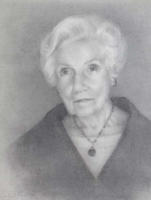 Bessie – Adult Portrait Graphite Painting