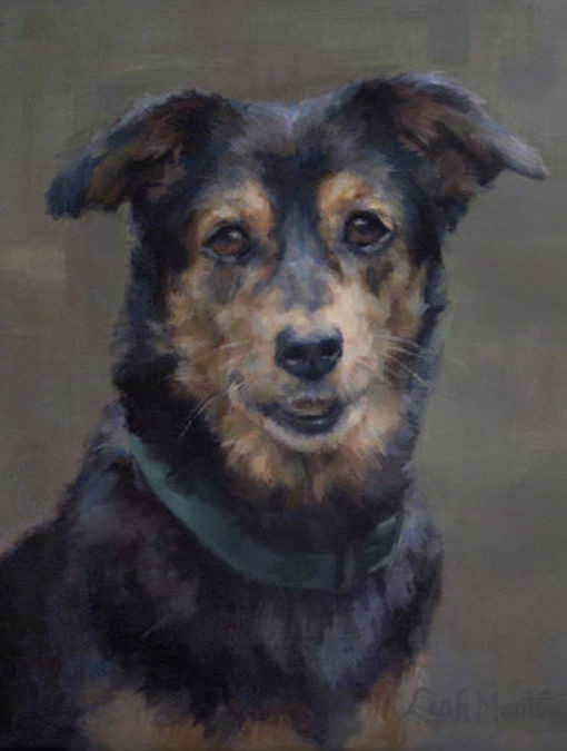 Clarabelle – Canine Custom Portrait in Oil