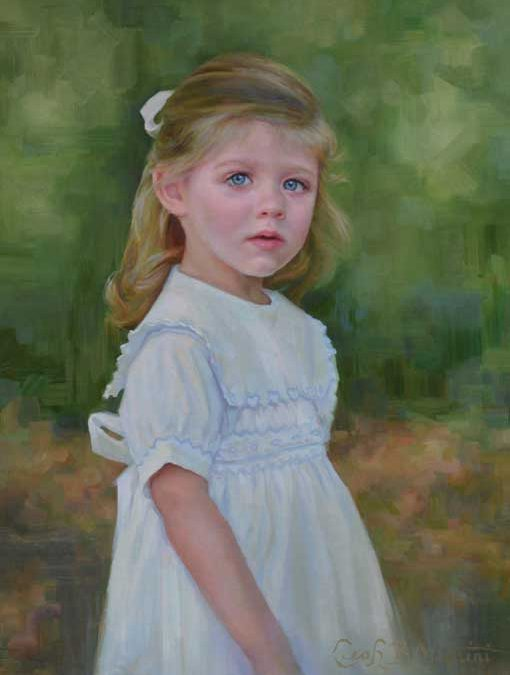 Emerson – Child Portrait in Oil