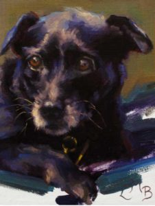 Ford – Canine Portrait in Oil