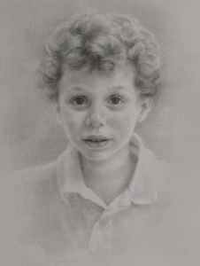 Foster – Child Portrait Graphite Painting