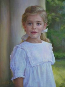 Helen – Child Portrait in Oil