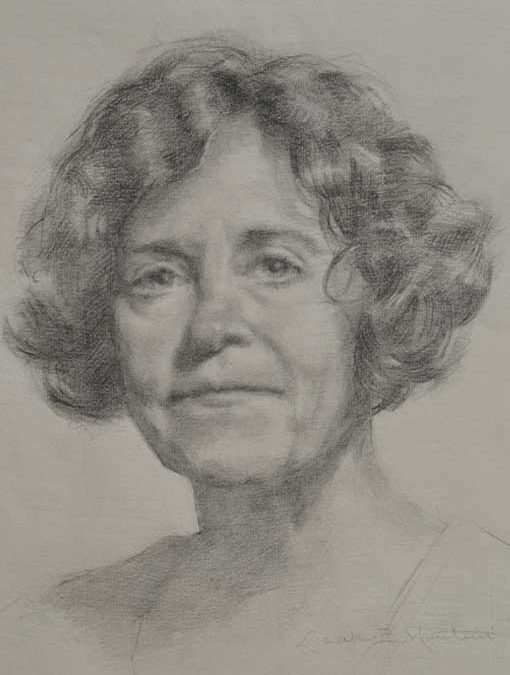 Leslie – Adult Portrait Graphite Painting