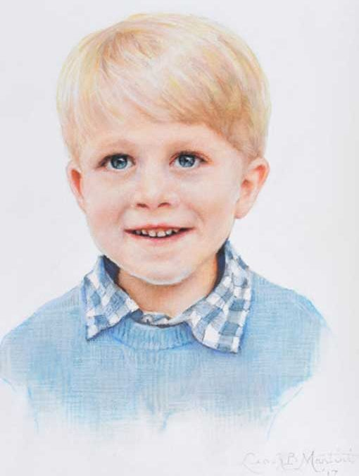 Miller – Child Portrait in Pastels