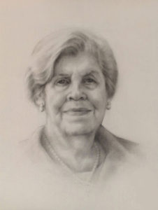 Mimi – Adult Portrait Graphite Painting