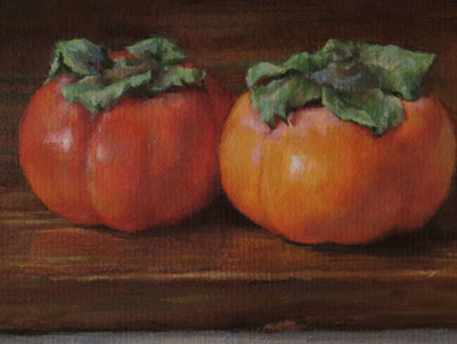 Persimmons – Custom Painting in Oil
