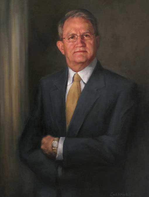 Russell – Adult Portrait in Oil
