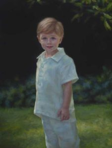 Samuel – Child Portrait in Oil