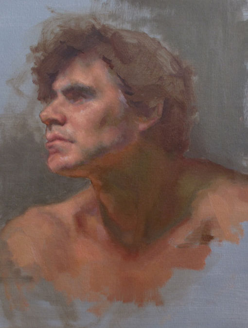 Scott – Adult Portrait in Oil