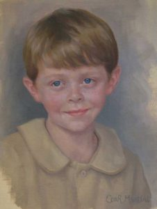 Spencer – Child Portrait in Oil