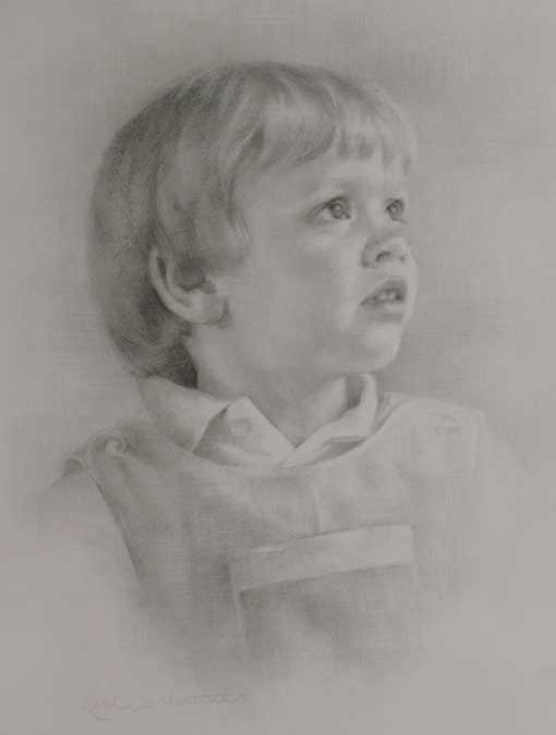 Wade – Child Portrait in Graphite