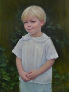 Will – Child Portrait in Oil