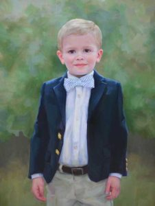 Thomas – Boy's Oil Portrait